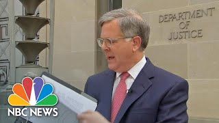 NBC News' Pete Williams Reads Excerpts From Mueller Report | NBC News