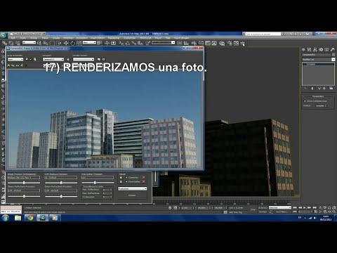 TUTORIAL 3DS MAX 2011 ... EDIFICIOS 3D