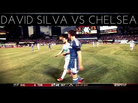 David Silva vs Chelsea (N) 2012-2013 US Tour Friendly HD by DavidSilva21l