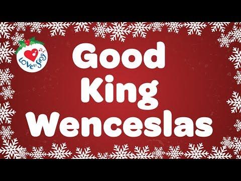 Good King Wenceslas with Lyrics Christmas Carol Sung by Children's Choir