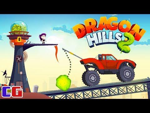 Dragon Hills 2 БОСС С БУЛАВОЙ! Мультяшная игра для детей МЕХАНИЧЕСКИЙ ДРАКОН против ЗОМБИ