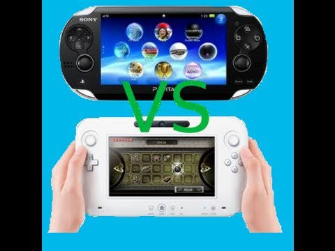 Playstation Vita VS Wii U