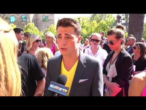 Colton Haynes Interview - 2012 Teen Choice Awards