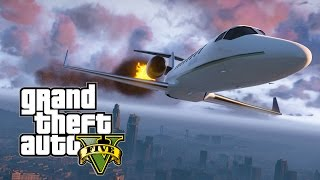 DESAFIO DO JATO! - GTA 5 Online