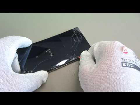 Sony Xperia Z2 Backcover Reparatur - handyreparatur123