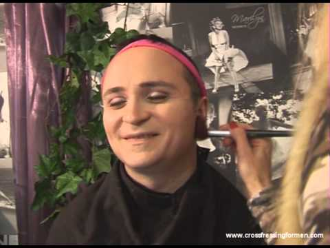 Cross Dressing For Men Presents Face Contouring