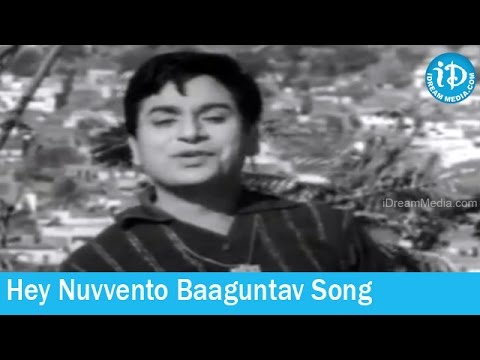 Pattindalla Bangaram Movie Songs - Hey Nuvvento Baaguntav Song - Ghantasala Hit Songs video