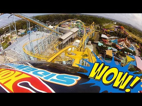 Hot Wheels SideWinder POV - Dreamworld Gold Coast