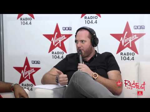 MistaJam chats to the Virgin Radio team