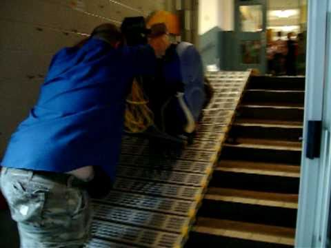 Wheelchair ramps for stairs - Portable Wheelchair Ramps 1 888 414 6721 Youtube
