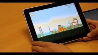 Apple iPad vs the Archos 101, UK video review