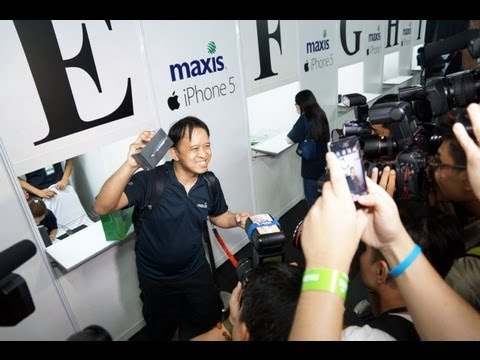 Maxis iPhone 5 Launch in Malaysia