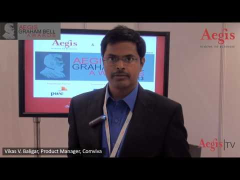 Mr. Vikas V. Baligar, Product Manager, Comviva at 1st Jury Round of Aegis Graham Bell Awards 2013