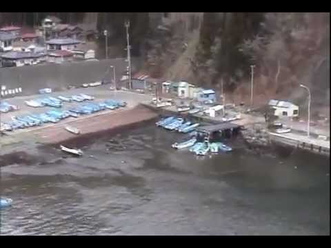 ���������SHOCKING!�a footage of tsunami 311 Japan����両��