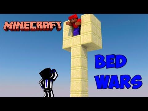 Minecraft Bed wars : Красный построил столб смерти #93