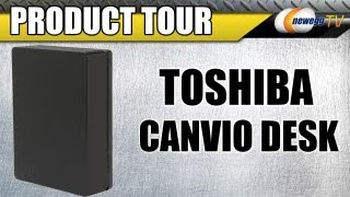 Newegg TV_ TOSHIBA Canvio Desk 2TB USB 3.0 Black Desktop External Hard Drive Product Tour