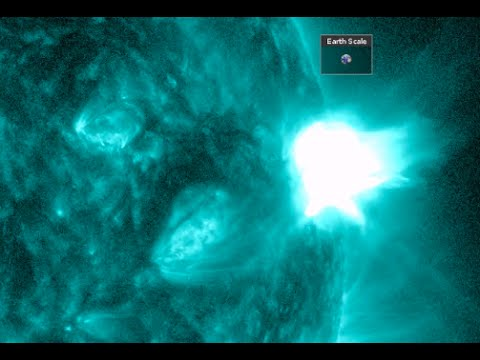 Big Solar Flare, Jet Stream Shifting | S0 News January 13, 2015