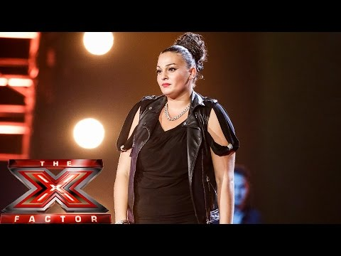 Monica Michael sings Olly Murs' Trouble Maker | Boot Camp | The X Factor UK 2014