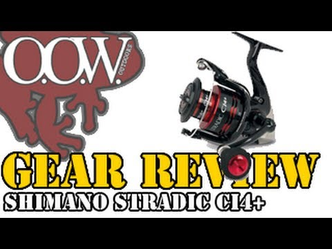 The Awesome Shimano Stradic CI4+ 3000FA Spinning Reel Review    OOW Outdoors
