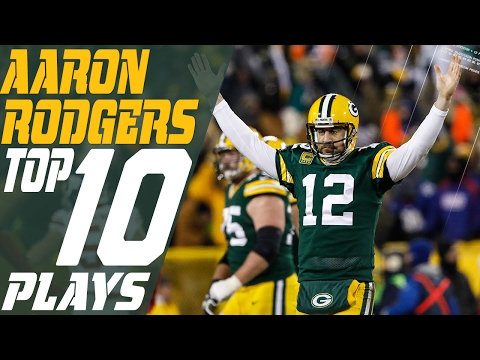 Aaron Rodger S 10 Plays Of 2016 Season Green Bay