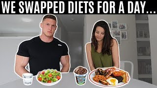 I swapped diets with my wife for a day and this is what happened...