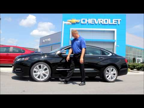 Ask the Chevy Dude the luxury feeling of 2014 Chevy Impala HOW TO