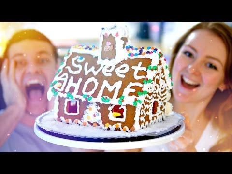 ГОТОВИМ РОЖДЕСТВЕНСКИЙ ПРЯНИЧНЫЙ ДОМИК | SWEET HOME