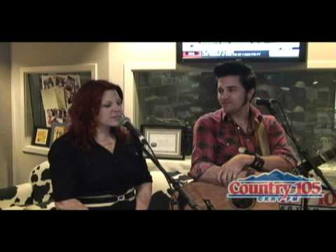 The Stellas Perform 'Riding In The Backseat' at Country 105