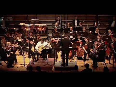 Хоакин Родриго - Concerto de Aranjez для гитары Часть 1