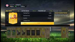 Fifa 15 pack opening 87 players WTF !!