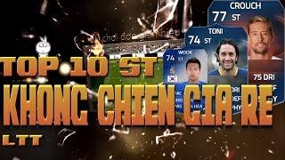 Kênh LTT | Top 10 ST Không chiến giá rẻ P.1 - FIFA Online 3