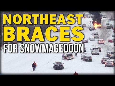 NORTHEAST BRACES FOR SNOWMAGEDDON 2016