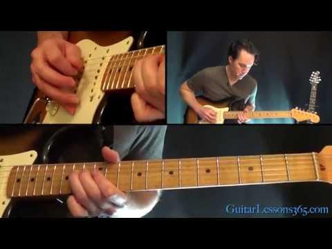 Sweet Emotion Guitar Lesson Pt.2 - Aerosmith - Solo video