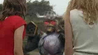 magiranger vs dekaranger movie, crossdressing?
