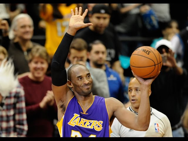 Kobe Bryant Passes Michael Jordan on All-Time Scoring List!