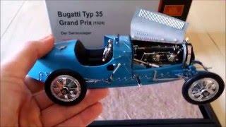 CMC Bugatti Type 35 Grand Prix 1924 die cast model