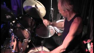 Iron Butterfly (In a Gada da Vida) Drum Solo, Ron Bushy.avi