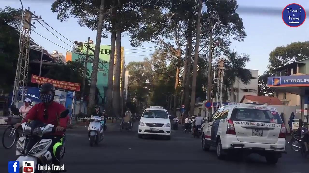 Trip in Saigon Street, Vietnam - Asian Travel Vietnam & Cambodia Border - Youtube #002