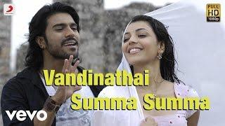Maaveeran Vandinathai Summa Summa Video Ramcharan Tej Kajal Agarwal