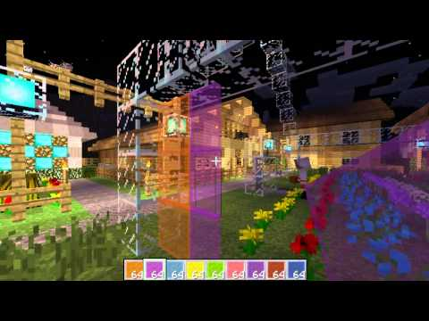 Simkraf Minecraft Server 1.7.2 | Flowers, Stained Glass & Fish 2013