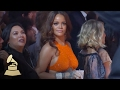 Rihanna Dances During Tribe Called Quest Performance   Audience Cam   59th GRAMMYs -