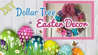 DIY Dollar Tree Easter Wreath | Dollar Tree DIY | Dollar Tree Decor