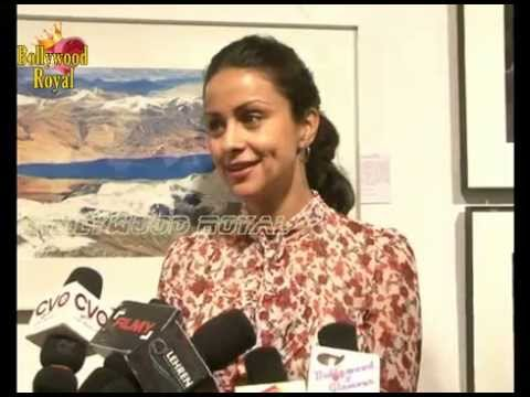 Gul Panag Inaugurates Art Exhibition 'the Melted Core' By Nisheeth Bhatt  2 video