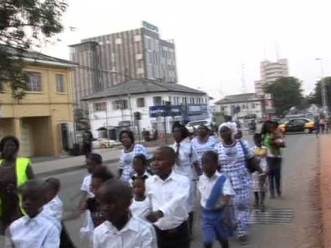 End of Year Parade and Carols Service - December 2014 Part1