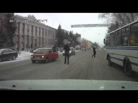 Сбил пешехода. ДТП Томск