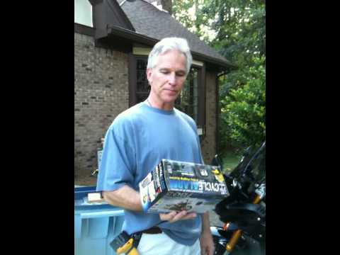Gorilla Motorcycle Alarm installation on 2007 Yamaha FZ1  - Part 1 of 2