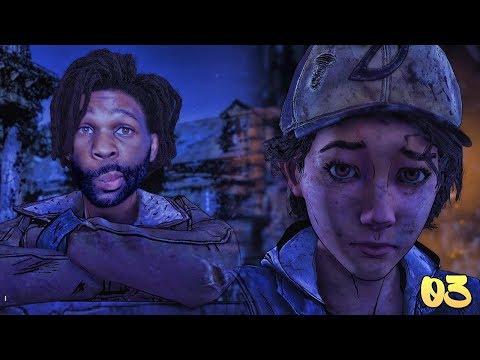 The Walking Dead Season 4 Gameplay Walkthrough Episode 1 Part 3 | AJ GOTTA CHILL FAMILY
