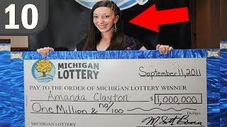 10 Lottery Winners that went BROKE