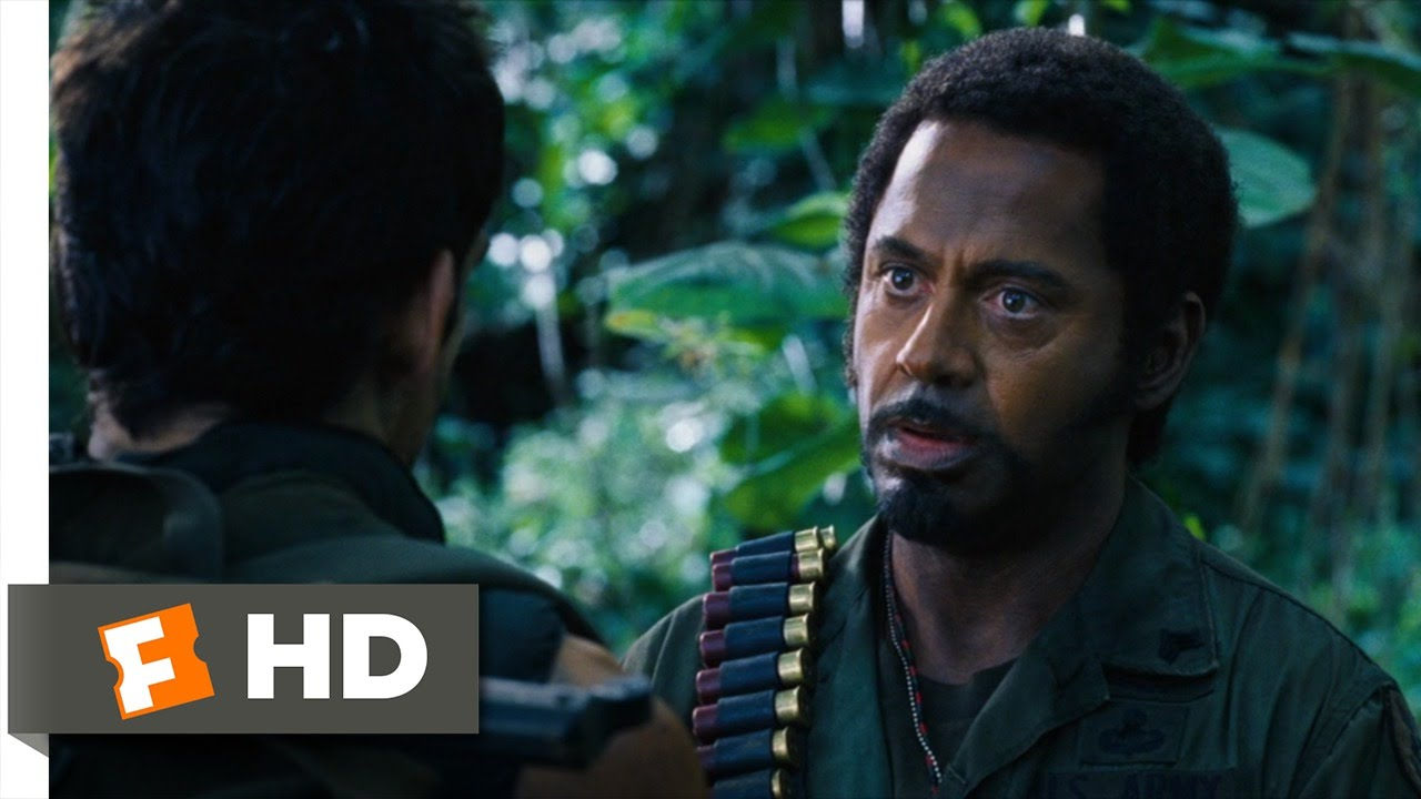 Tropic Thunder 5 10 Movie Clip Never Go Full Retard