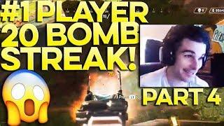 RANK #1 APEX LEGENDS PLAYER 4TH 20 BOMB IN A ROW❗ 😱 WTF | (20 BOMB STREAK PART 4)
